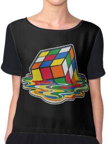 Big Bang theory - Rubik's cube Chiffon Top