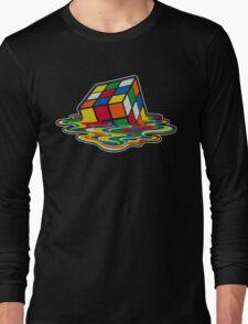 Big Bang theory - Rubik's cube Long Sleeve T-Shirt