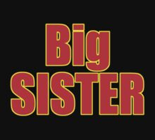 Big Sister Kids Clothing - T-Shirt One Piece - Short Sleeve