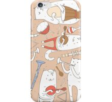 Cats band iPhone Case/Skin