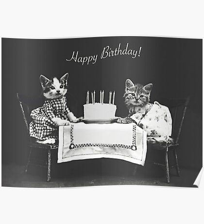 Harry Whittier Frees-  The Birthday Cake Poster