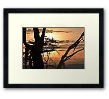 Unspoilt Sunrise Framed Print