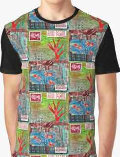 air mail landscape Graphic T-Shirt