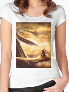 Hi Shenron Women's Fitted Scoop T-Shirt