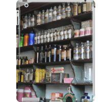 Old Fashioned Pharmacy iPad Case/Skin