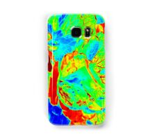 Red Veins Samsung Galaxy Case/Skin