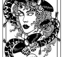 The Empress Postcard (No.3 of 10) by Paleface