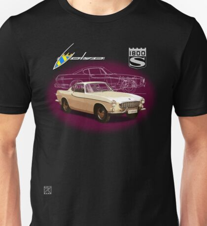 Volvo P1800S Coupe (best on black) Unisex T-Shirt