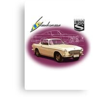 Volvo P1800S Coupe (best on black) Canvas Print
