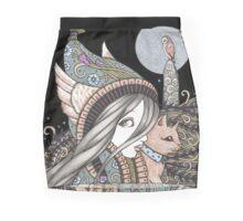 Creatures of the Night Mini Skirt