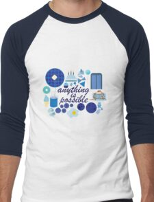 Anything is Possible Men's Baseball ¾ T-Shirt