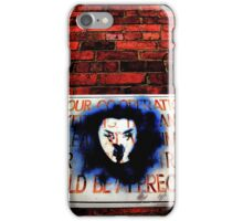 Your co-operation in keeping the laneway clear at all times for through traffic would be appreciated. iPhone Case/Skin