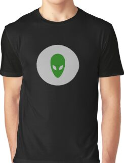 Cool Alien T-shirt and Sticker Graphic T-Shirt