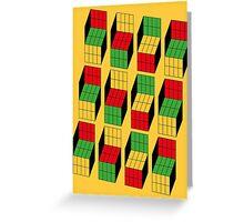 Sheldon Cooper - Rubik's Cube optical illusion | Ilusión óptica del cubo de Rubik Greeting Card