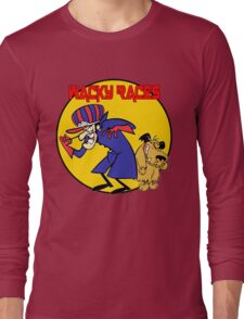 Wacky Races Cartoon Long Sleeve T-Shirt