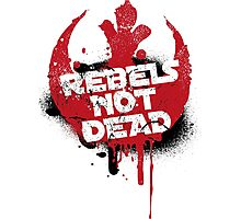 Rebels not dead Photographic Print