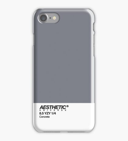 AESTHETIC UNIVERSE CONCRETE iPhone Case/Skin