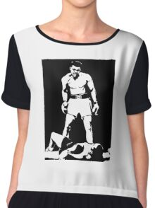 Muhammad Ali Chiffon Top