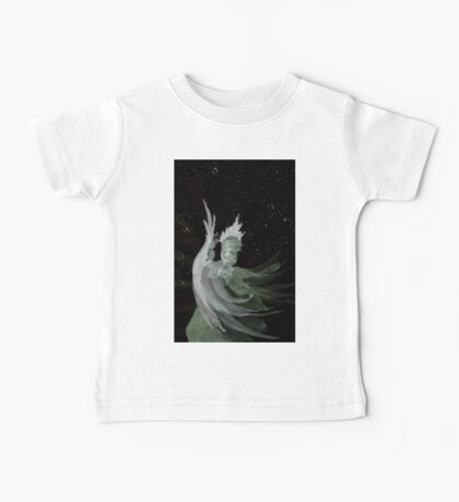 0092 - Brush and Ink - Dervish A-Feather Baby Tee