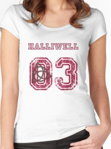 Halliwell Jersey Women's Fitted Scoop T-Shirt