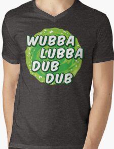 Wubbalubbadubdub Mens V-Neck T-Shirt