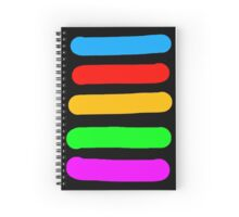 Graffiti Colours Spiral Notebook