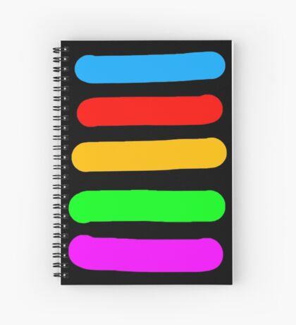 Graffiti Colours Spiral Notebook