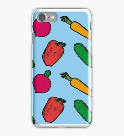 Vegetables Pattern iPhone Case/Skin