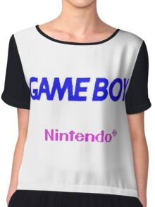 GAME BOY Chiffon Top