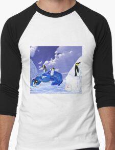 Piece of Ice Men's Baseball ¾ T-Shirt