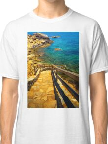 Steps to the cove Classic T-Shirt