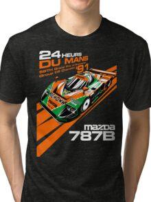 DU MANS : MAZDA 787B Tri-blend T-Shirt
