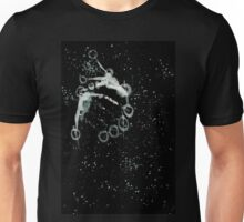 0090 - Brush and Ink - Warp Bubble Unisex T-Shirt