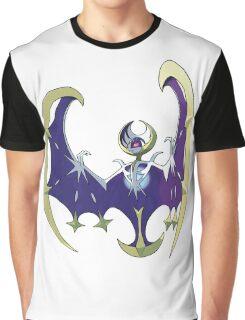 POKEMON SUN AND MOON - LUNALA Graphic T-Shirt
