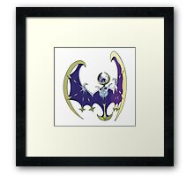 POKEMON SUN AND MOON - LUNALA Framed Print