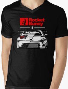 ROCKET BUNNY Mens V-Neck T-Shirt