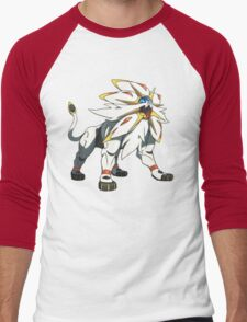 POKEMON SUN AND MOON - SOLGALEO Men's Baseball ¾ T-Shirt