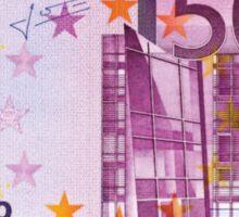 500 euros money bill banknote Sticker