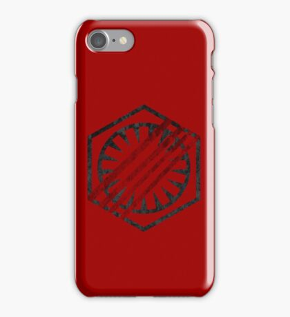 the first order symbol iPhone Case/Skin