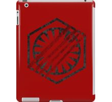 the first order symbol iPad Case/Skin
