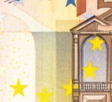 50 euros money bill banknote Sticker