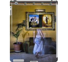 ...and the room held its breath as she whispered into the scene. iPad Case/Skin