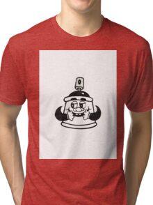 Graffiti Cap Characters  Tri-blend T-Shirt