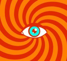 Hypnotic poster Sticker