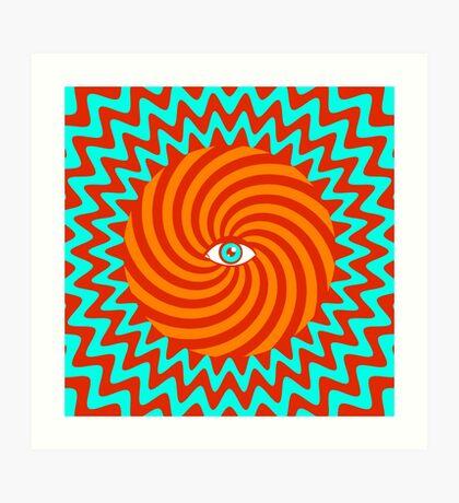 Hypnotic poster Art Print