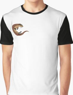 Swimming Otter Isolated Graphic T-Shirt
