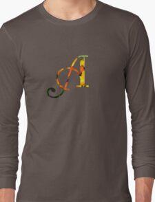 Floral A Long Sleeve T-Shirt