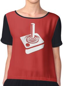 Atari Joystick - 80s Computer Game T-Shirt Chiffon Top