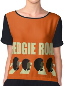 Hedgie road Chiffon Top