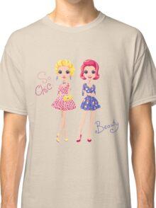 Pop Art cute fashion girls Classic T-Shirt